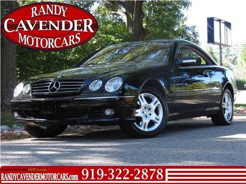 2005 Mercedes-Benz CL-Class for sale in Raleigh, NC