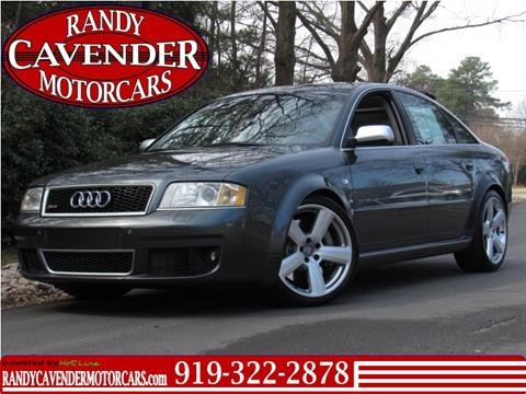 2003 Audi RS 6 for sale in Raleigh, NC