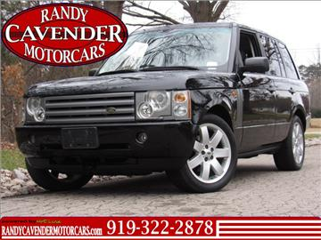 2005 Land Rover Range Rover for sale in Raleigh, NC