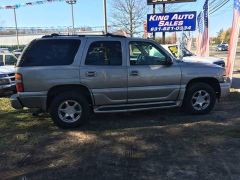 2003 GMC Yukon for sale at King Auto Sales INC in Medford NY