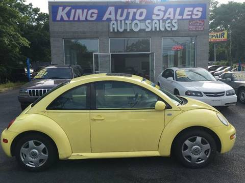 2001 Volkswagen New Beetle for sale at King Auto Sales INC in Medford NY