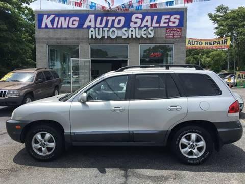 2006 Hyundai Santa Fe for sale at King Auto Sales INC in Medford NY