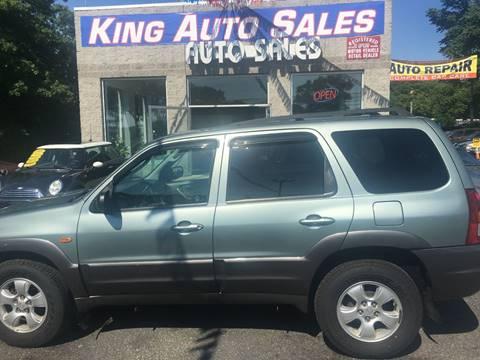 2004 Mazda Tribute for sale at King Auto Sales INC in Medford NY