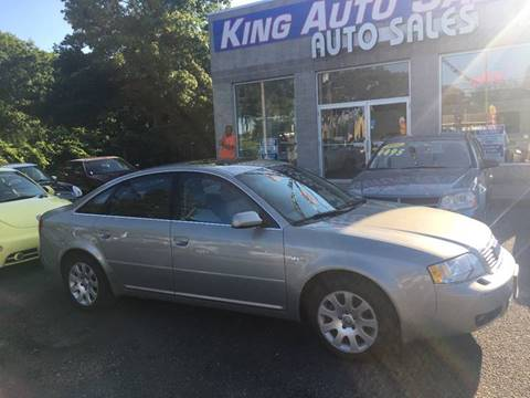 2003 Audi A6 for sale at King Auto Sales INC in Medford NY