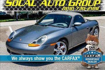 2002 Porsche Boxster for sale in Reseda, CA