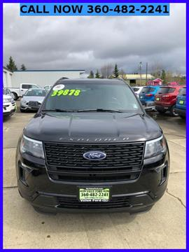 2018 Ford Explorer for sale in Elma, WA