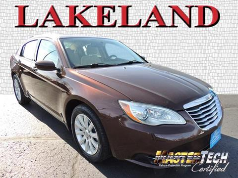 2012 Chrysler 200 for sale in Lake Mills WI