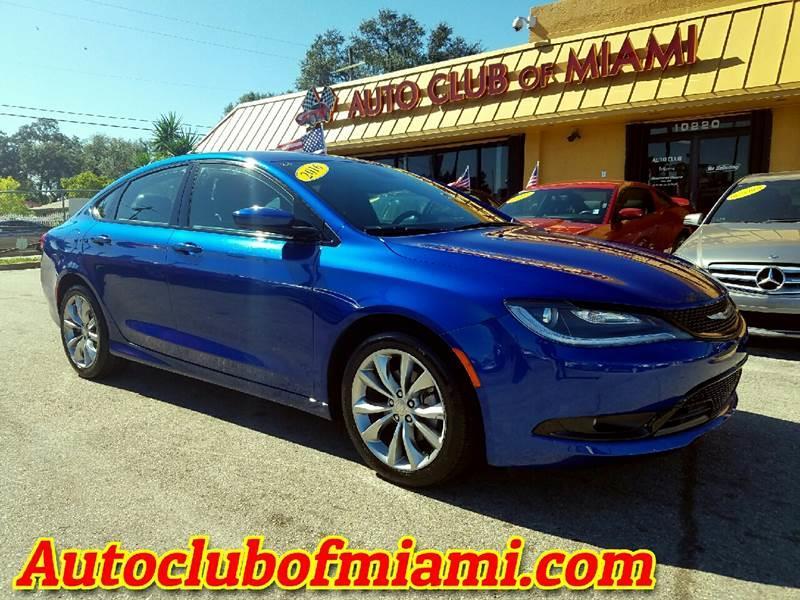 2016 CHRYSLER 200 S 4DR SEDAN blue impressive 2016 chrysler 200 s alloy wheels brand new tires
