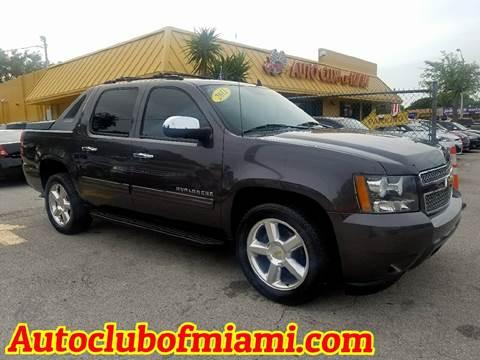 2011 Chevrolet Avalanche for sale in Miami, FL