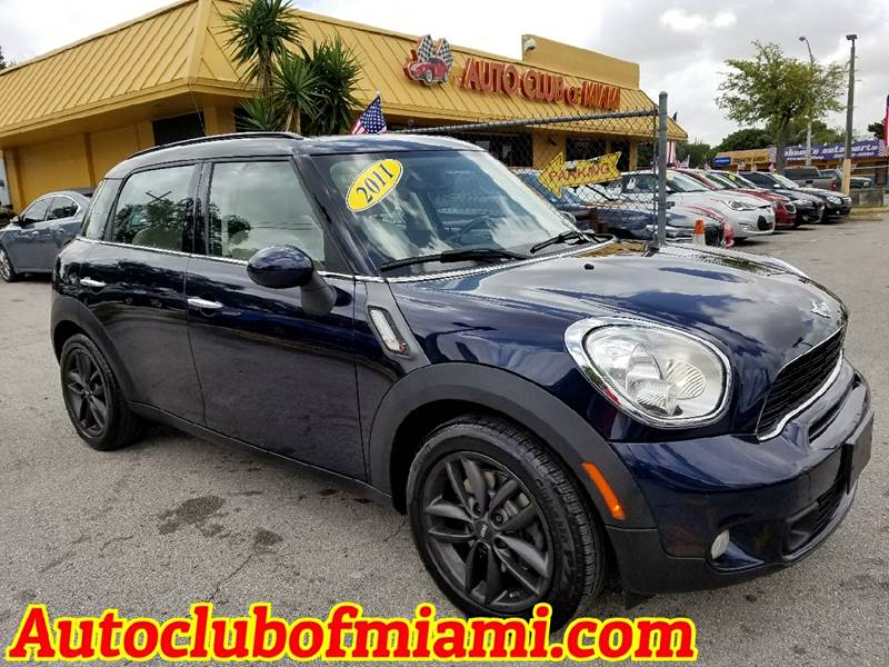 2011 MINI COOPER COUNTRYMAN S 4DR CROSSOVER blue beautiful 2011 mini cooper with hk sound system