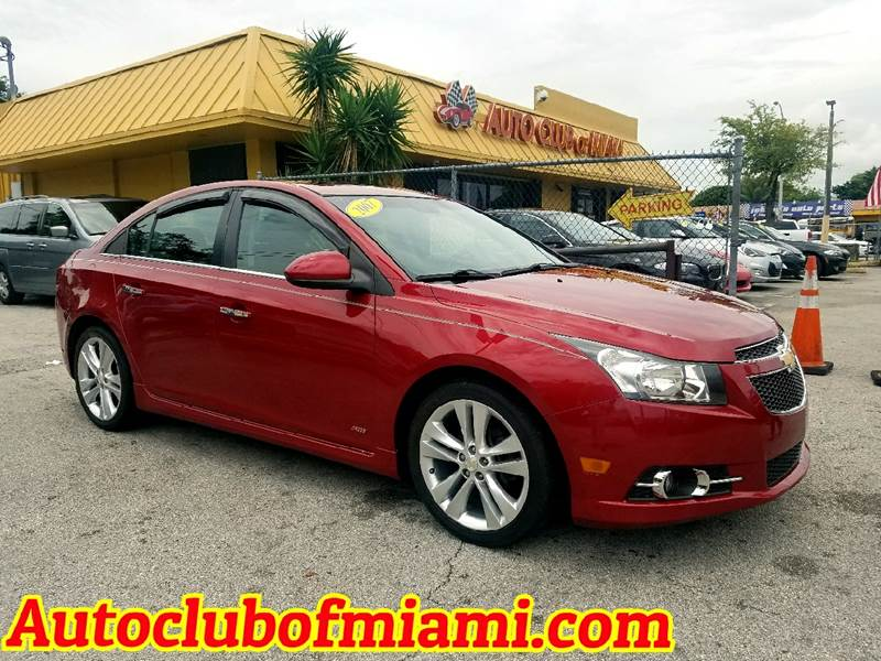 2011 CHEVROLET CRUZE LTZ 4DR SEDAN maroon super clean chevroelt cruze with rs sunroof and more