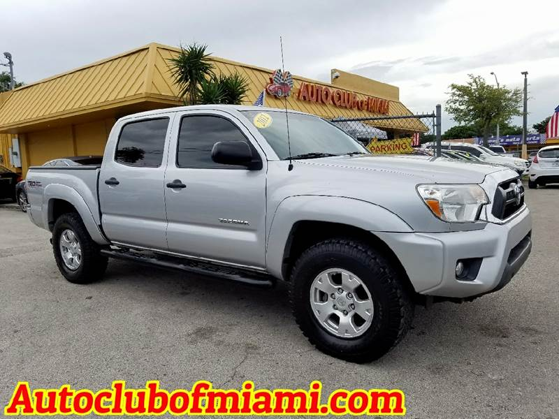 2012 TOYOTA TACOMA V6 4X4 4DR DOUBLE CAB 50 FT SB silver 2012toyota tacoma with trd package alloy