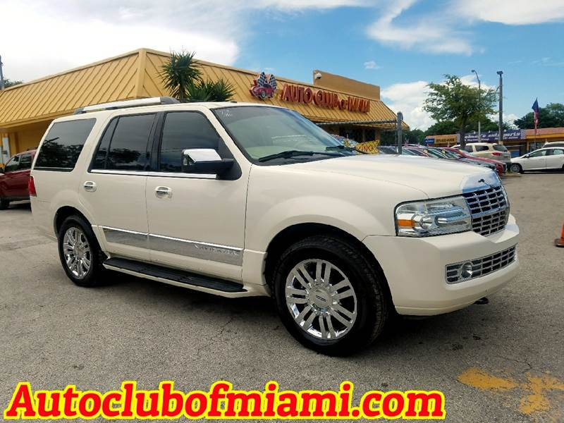 2007 LINCOLN NAVIGATOR LUXURY 4DR SUV white awesome lincoln navigator luxury edition with automat