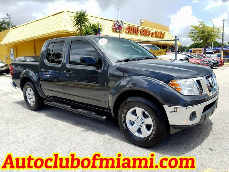 2011 NISSAN FRONTIER SV V6 4X2 4DR CREW CAB SWB PICKU gray great 2011 nissan frontier with sv pack