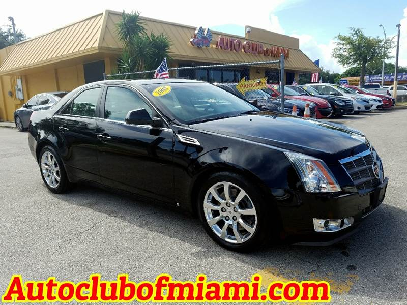 2008 CADILLAC CTS 36L DI AWD 4DR SEDAN black beatiful cadillac cts with all the extras  all powe