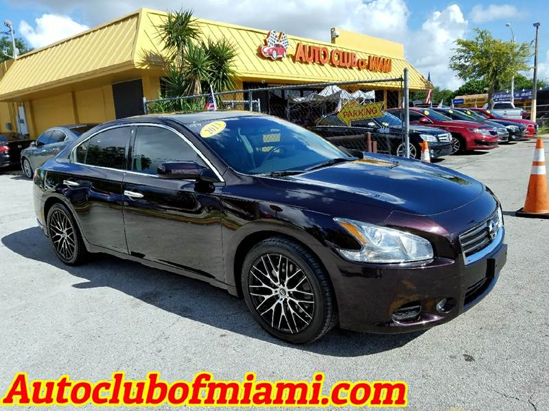 2013 NISSAN MAXIMA 35 S 4DR SEDAN black 2013 nissan maxima with alloy wheelsnew tires and more