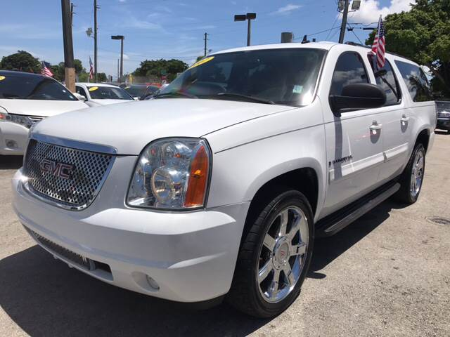 2007 GMC YUKON DENALI AWD 4DR SUV white all of our vehicles are clean titles financing is availa