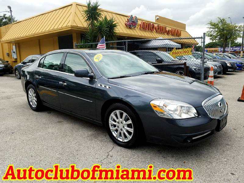 2011 BUICK LUCERNE CXL 4DR SEDAN gray nice leather interior fully loaded super clean must see