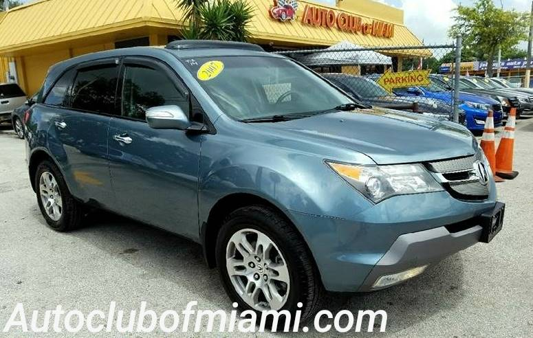 2007 ACURA MDX SH AWD WTECH 4DR SUV WTECHNOLO blue great family suv fully equipped navigation