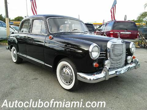 1961 mercedes benz 190 class for sale carsforsale 1961 mercedes benz 190 class for sale in miami fl sciox Images