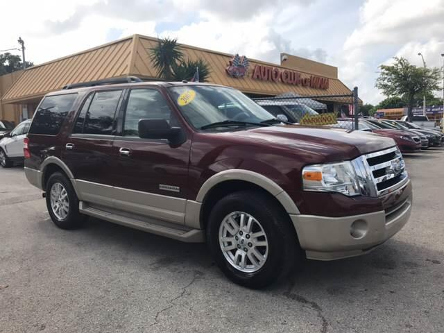 2007 FORD EXPEDITION EDDIE BAUER 4X2 4DR SUV maroon extraordinary ford expedition fully loaded