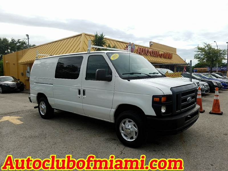 2013 FORD E-SERIES CARGO E 150 3DR CARGO VAN white great commercial van shelves and storage bin