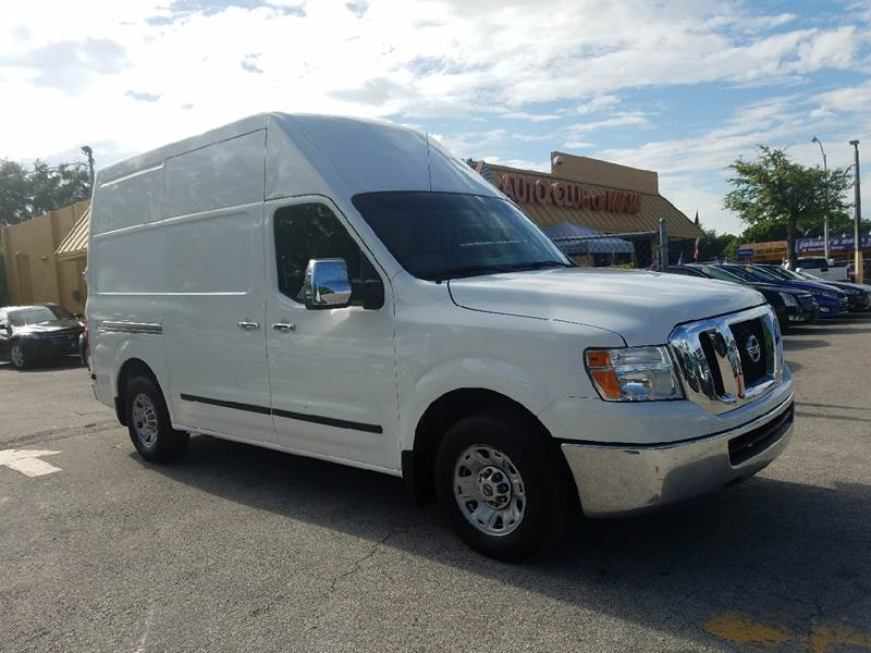 2012 NISSAN NV CARGO 3500 HD SV 3DR CARGO VAN W HIGH white all of our vehicles are clean titles
