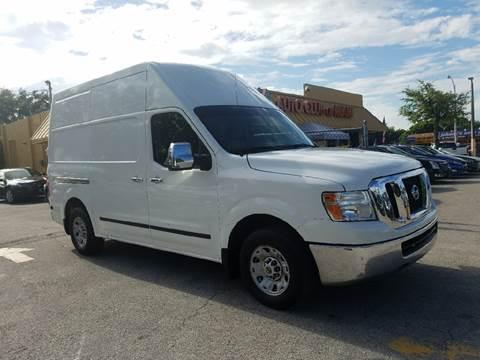 2012 Nissan NV Cargo for sale in Miami, FL