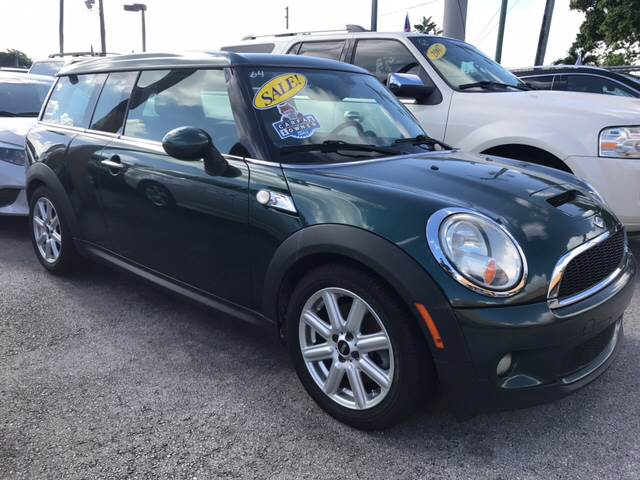 2010 MINI COOPER CLUBMAN S 3DR WAGON green all of our vehicles are clean titles financing is ava
