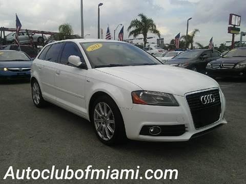2012 Audi A3 for sale in Miami, FL