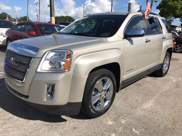 2014 GMC TERRAIN SLT 2 4DR SUV tan beautiful color leather combination all power options  back