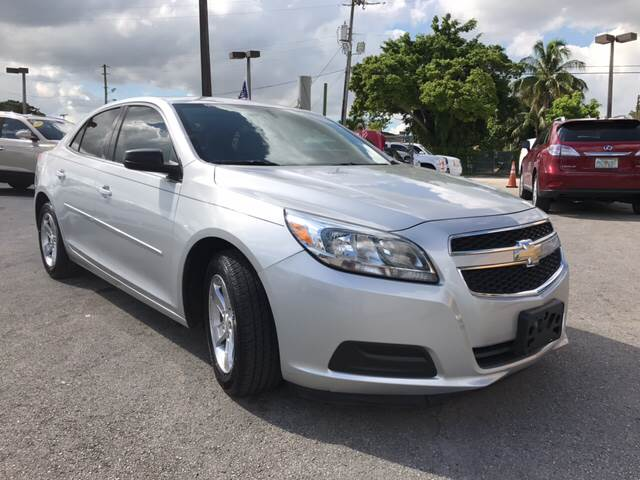 2013 CHEVROLET MALIBU LS 4DR SEDAN silver all of our vehicles are clean titles financing is avai