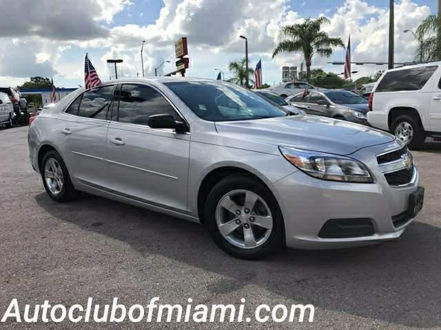 2013 CHEVROLET MALIBU LS 4DR SEDAN silver bad credit no credit no problem  call now to speak t