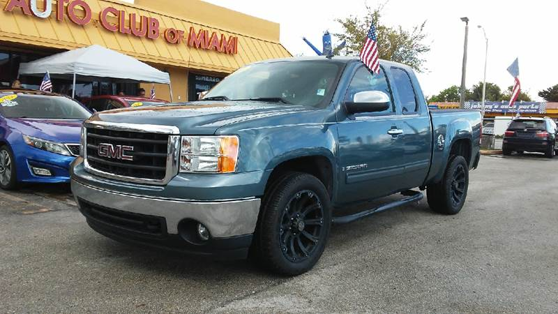 2007 GMC SIERRA 1500 SLE1 4DR EXTENDED CAB 58 FT SB blue all of our vehicles are clean titles