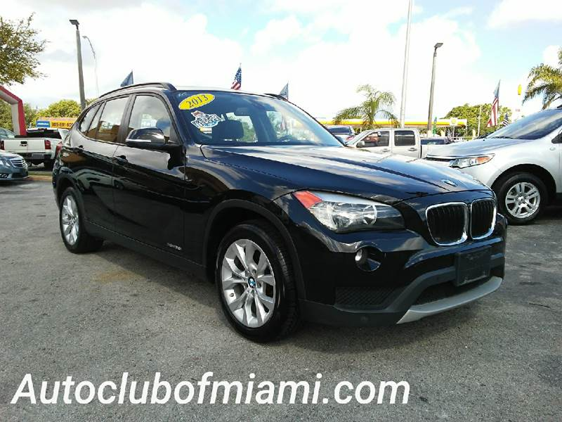 2013 BMW X1 XDRIVE28I AWD 4DR SUV black all of our vehicles are clean titles financing is availab
