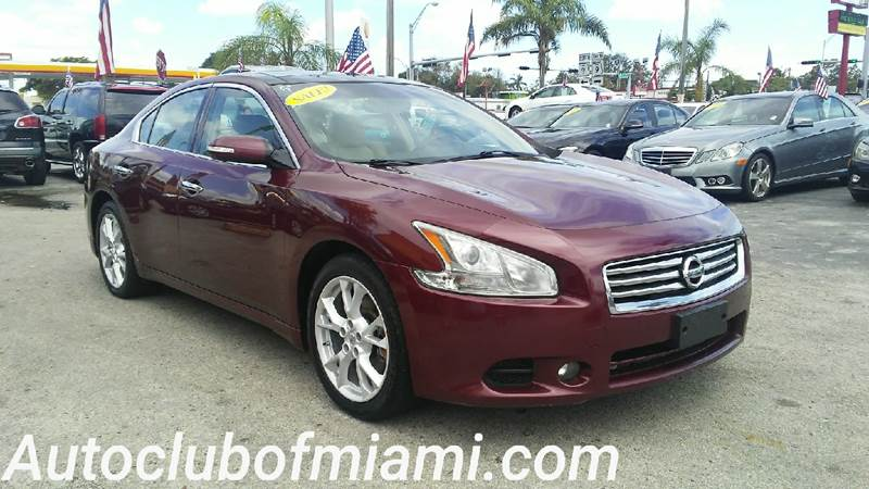 2013 NISSAN MAXIMA 35 S 4DR SEDAN maroon all of our vehicles are clean titles financing is avai