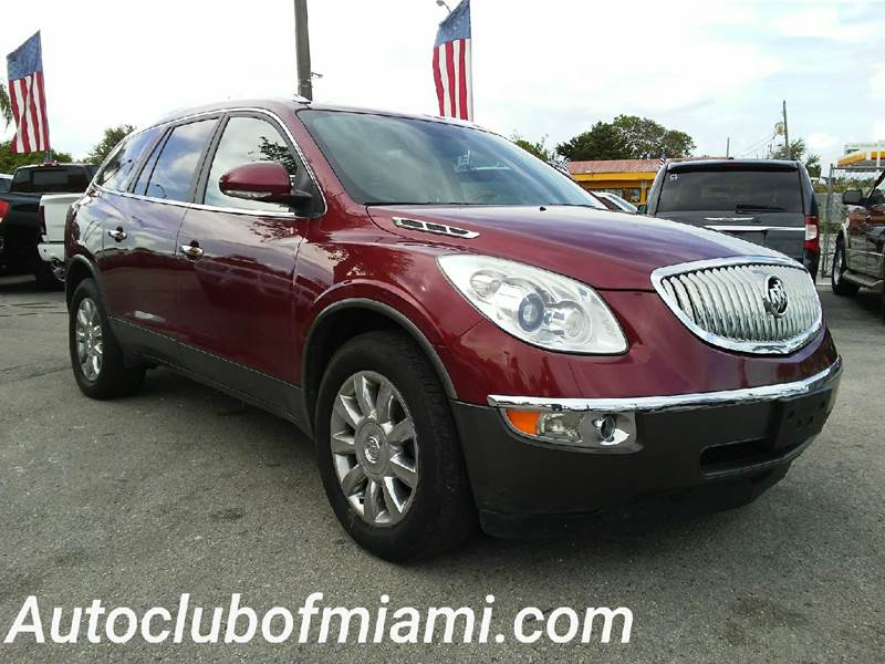 2011 BUICK ENCLAVE CXL 1 AWD 4DR CROSSOVER W1XL red all of our vehicles are clean titles financ