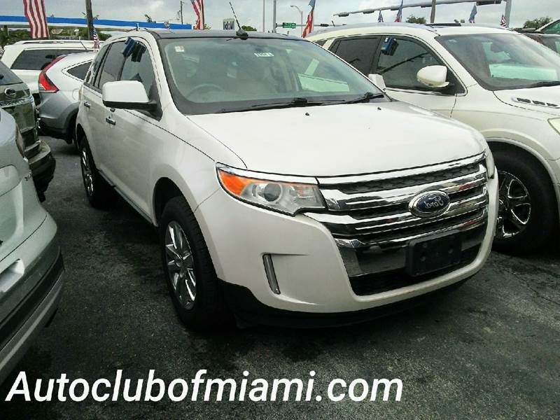 2011 FORD EDGE SEL 4DR CROSSOVER white all of our vehicles are clean titles financing is availab