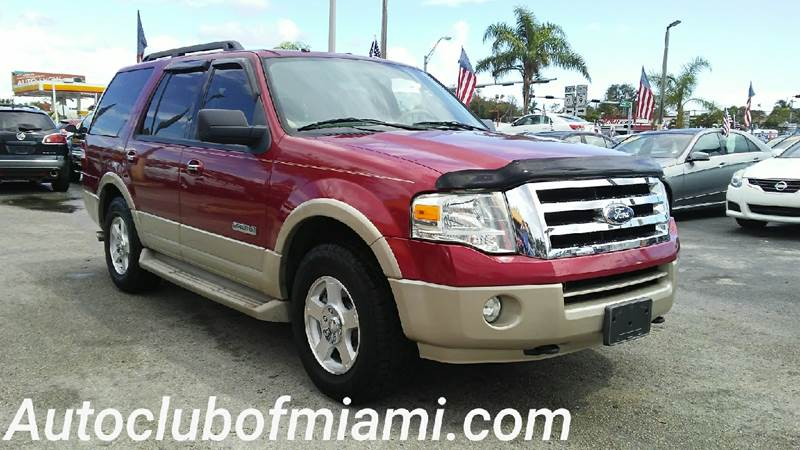 2007 FORD EXPEDITION EDDIE BAUER 4DR SUV 4X4 maroon loaded clean suv  third-row seat  two-tone