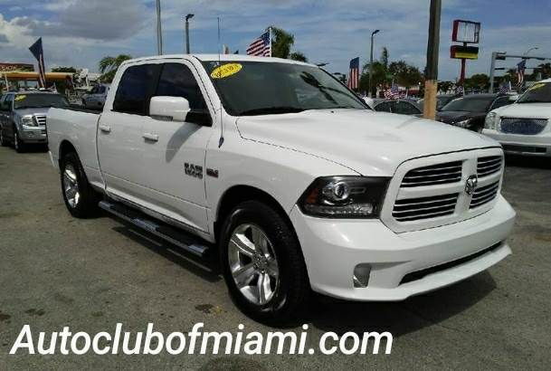 2013 RAM RAM PICKUP 1500 SPORT 4X2 4DR CREW CAB 63 FT S white all of our vehicles are clean titl