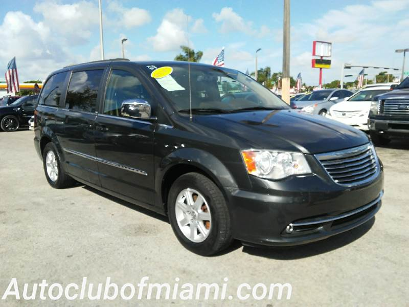 2012 CHRYSLER TOWN AND COUNTRY TOURING L 4DR MINI VAN gray all of our vehicles are clean titles f