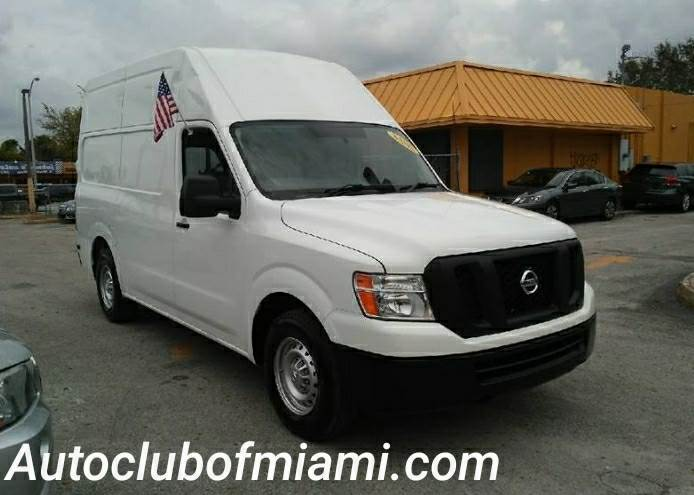 2014 NISSAN NV CARGO 2500 HD S 4X2 3DR CARGO VAN WHI white all of our vehicles are clean titles