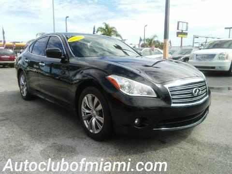 2012 Infiniti M37 for sale in Miami, FL