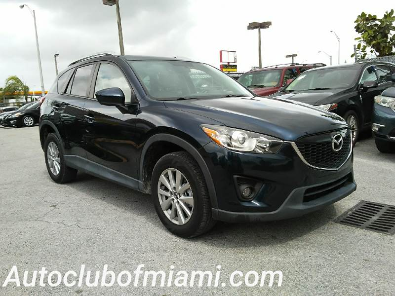 2014 MAZDA CX-5 TOURING 4DR SUV blue all of our vehicles are clean titles financing is available