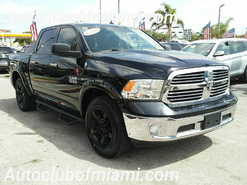 2013 RAM RAM PICKUP 1500 SLT 4X2 4DR CREW CAB 55 FT SB black all of our vehicles are clean title