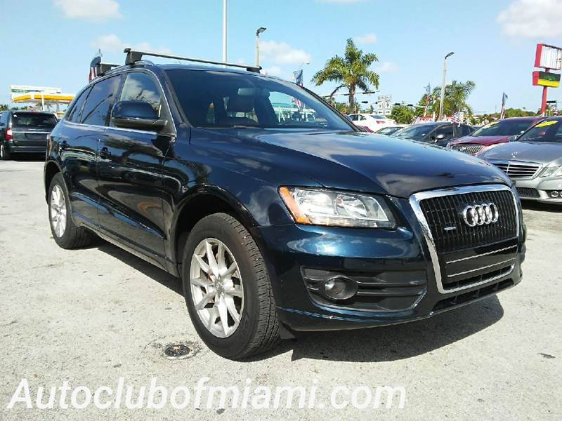 2010 AUDI Q5 32 QUATTRO PREMIUM AWD 4DR SUV blue all of our vehicles are clean titles financing