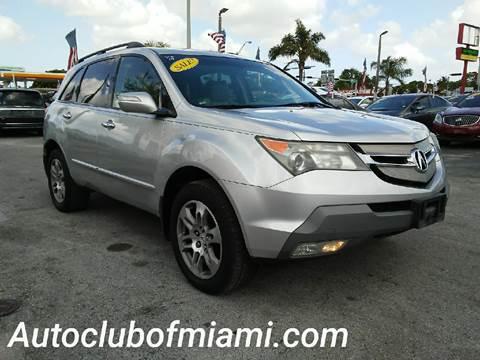 2007 Acura MDX for sale in Miami, FL