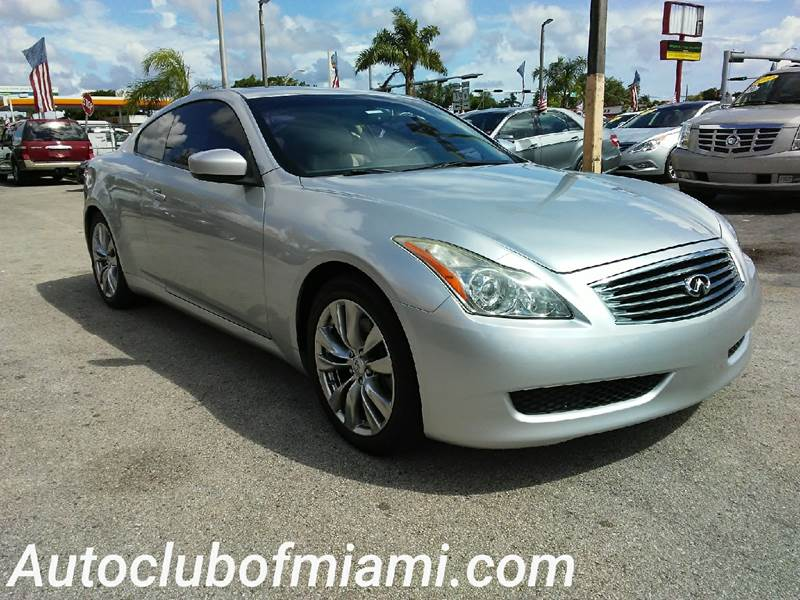2008 INFINITI G37 BASE 2DR COUPE silver all of our vehicles are clean titles financing is availa