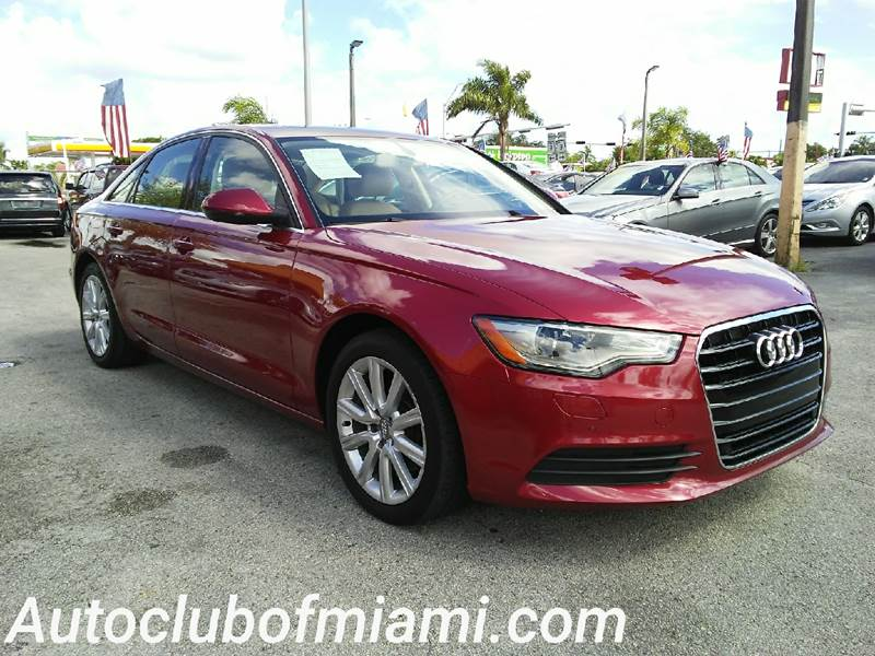 2013 AUDI A6 20T PREMIUM PLUS 4DR SEDAN red all of our vehicles are clean titles financing is a