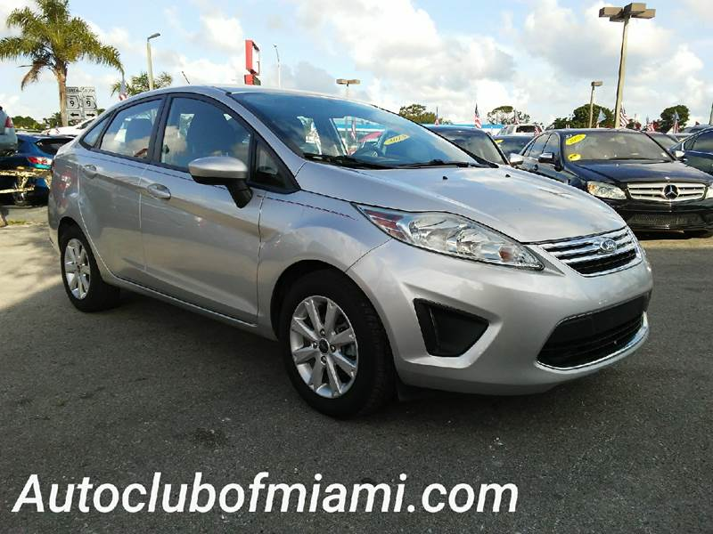 2012 FORD FIESTA SE 4DR SEDAN silver all of our vehicles are clean titles financing is available